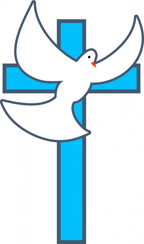 Free Photos Cross And Dove Symbol Search Download Needpix