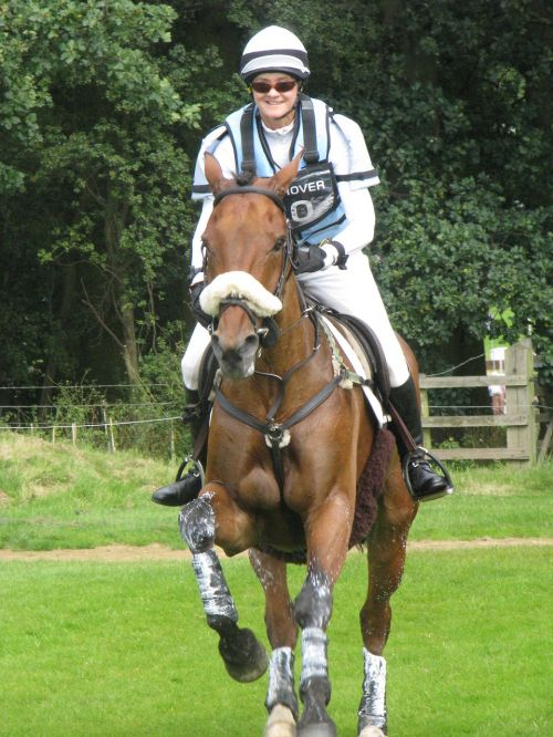 cross country horse rider