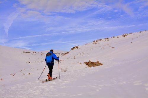 cross-country skiing skiing snow