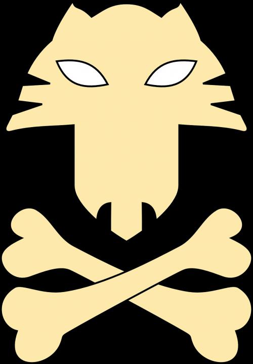 crossbones cat bones