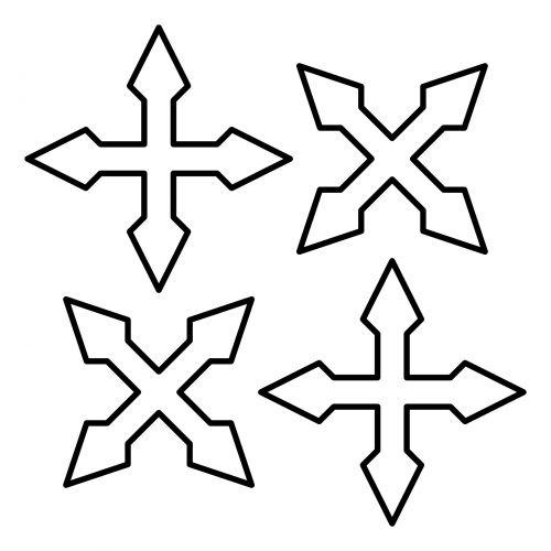 Crosses X