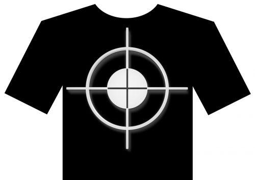 crosshair t shirt visor