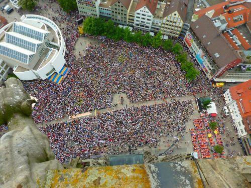 crowd human group