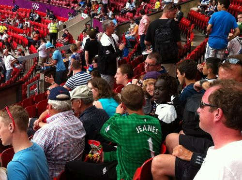 crowd audience people