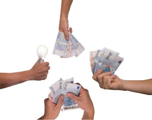 crowdfunding  idea  bulb