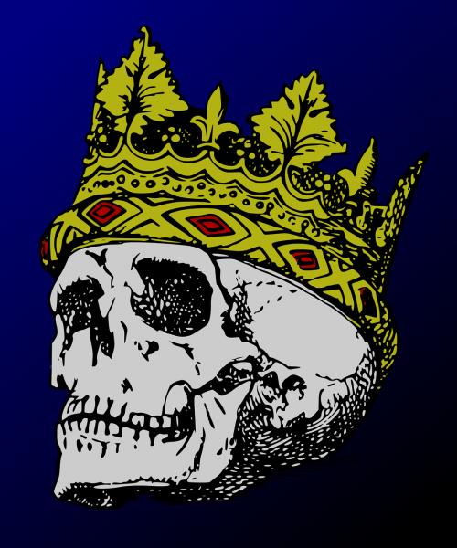 crown death halloween