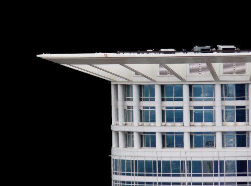 crown skyscraper facade