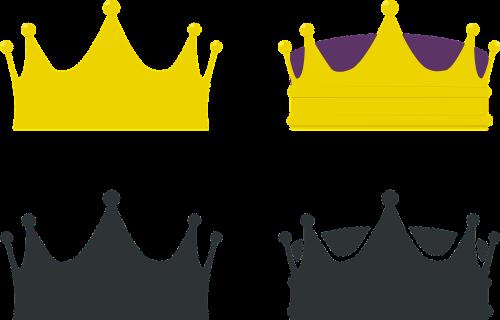 crown king queen