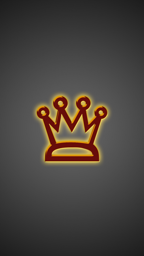 crown wallpaper smartphone golden crown