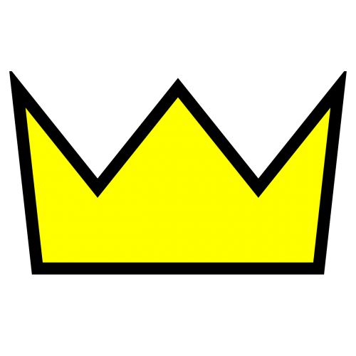 crown gold king