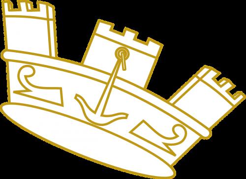 crown gold golden