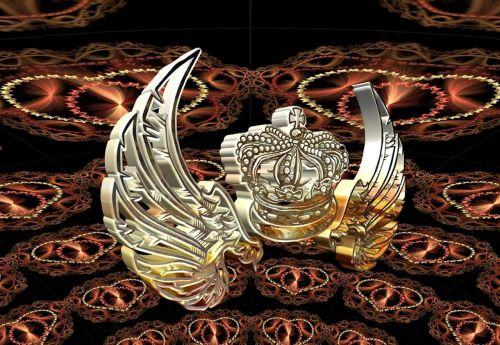 crown wreath royal