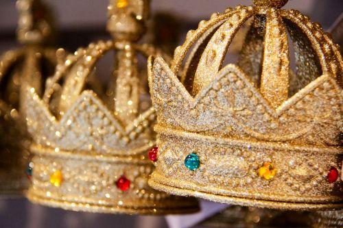 crown sparkle golden