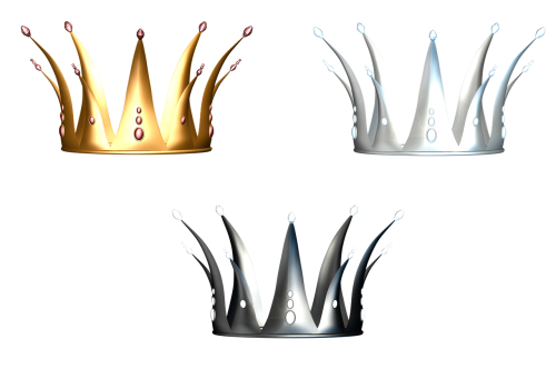 crowns princess fairy-tale