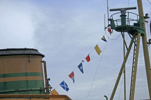 Crow's Nest On Old Tug Boat