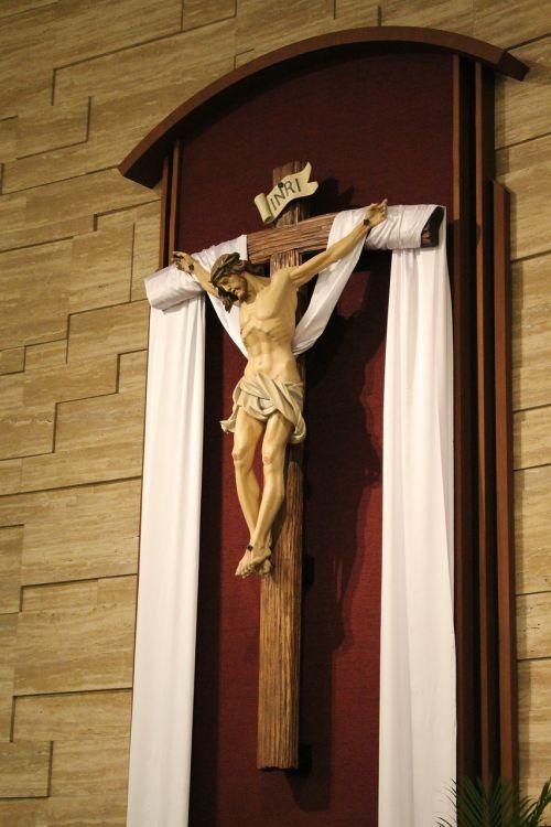 crucifix easter catholic