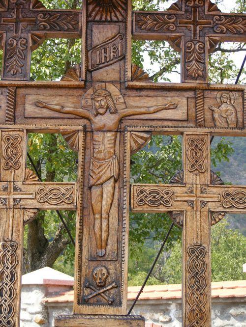crucifix monastery religion