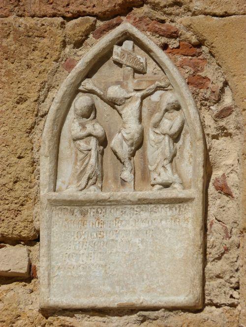 crucifixion cruz romanesque