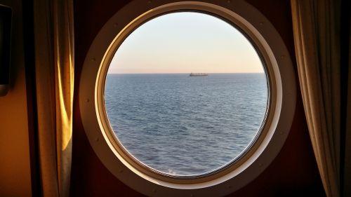 cruise cabin porthole