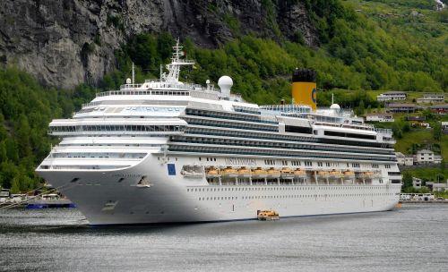 cruise boat cruise vacation norway