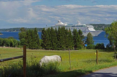 cruise ship archipelago course stockholm