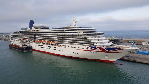 cruise ship arcadia ship