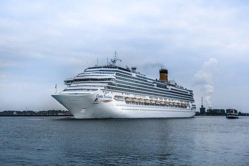 cruise ship  costa favolosa  cruises