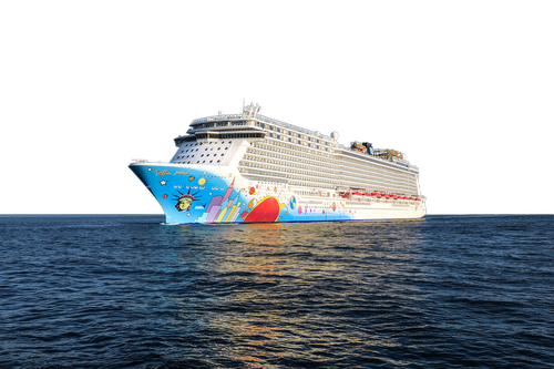 cruise ship  norwegian-breakaway  transparent