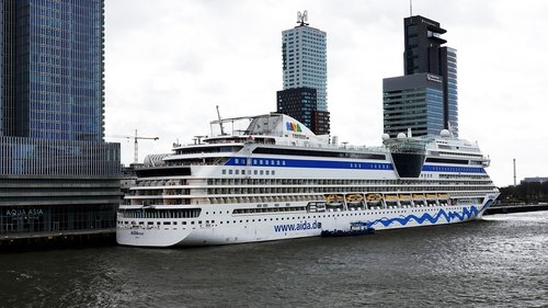 cruise ship  cruise  rotterdam