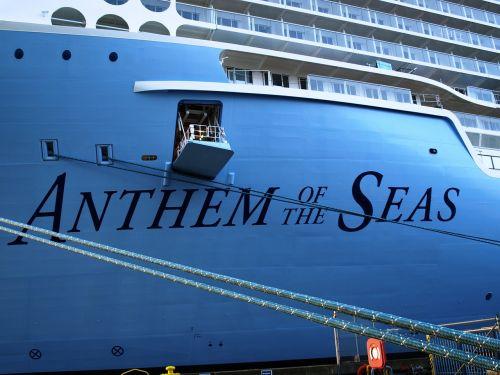cruise ship anthem of the seas ozeanriese