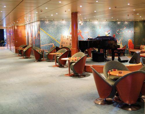 cruise ship interior lounge area design music