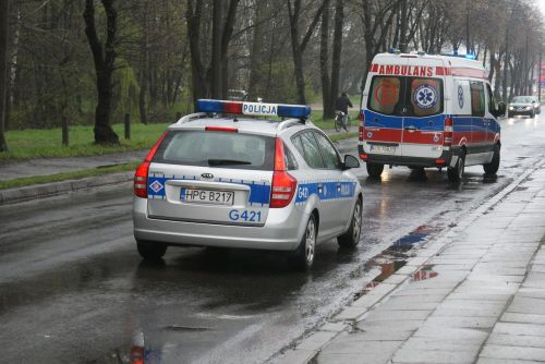 cruiser the ambulance the police