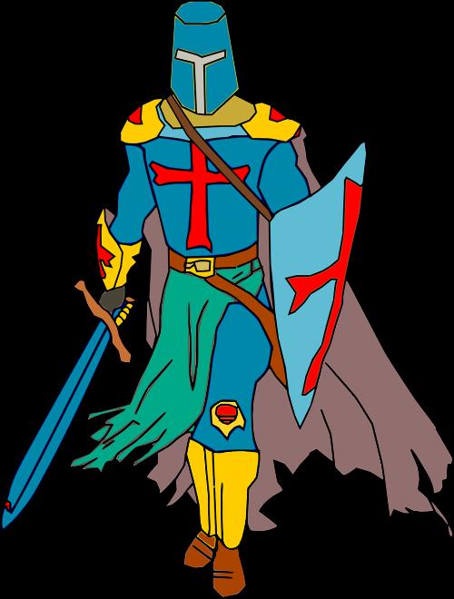 crusader knight warrior