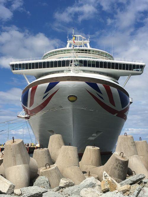 cruse ship tallinn baltic's