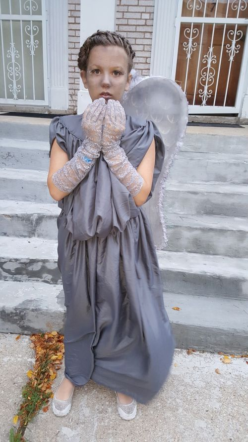 crying angel costume heluvin