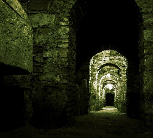 kripta,grabstette,vienuolynas,katedra,kapas,kapinės,urvas,mirtis