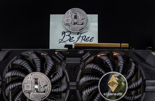 cryptocurrency  freedom concept  freedom
