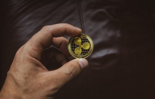 cryptocurrency  concept  ripple