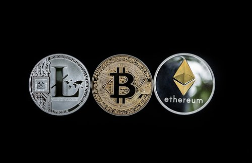cryptocurrency  concept  altcoins