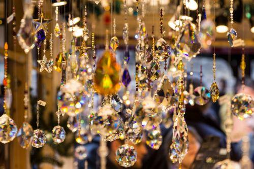 crystal jewellery decoration