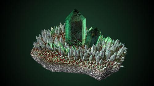 crystal mineral gem
