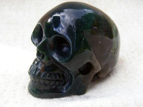 crystal skull minerals