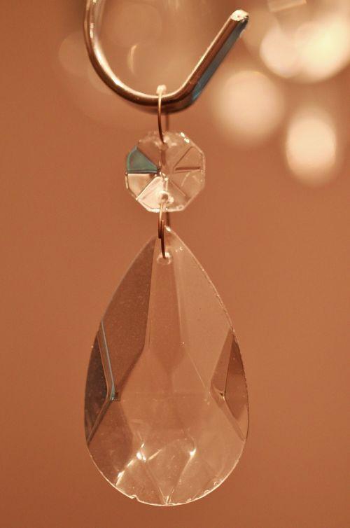 crystal light transparent