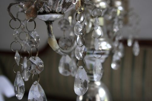 crystal chandelier candlestick