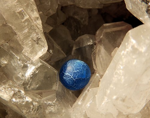 crystal  sphere  earth