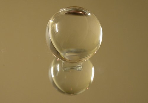 crystal  ball  transparent