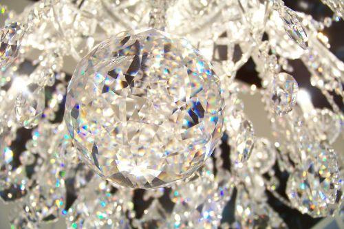 crystal chandelier shine