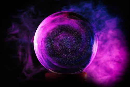 crystal ball  glass ball  ball