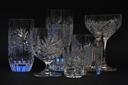 crystal glasses crystal glass