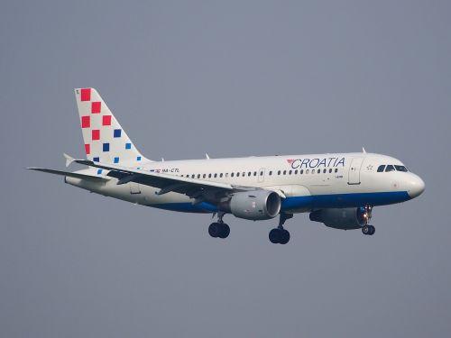 ctl landing croatia airlines